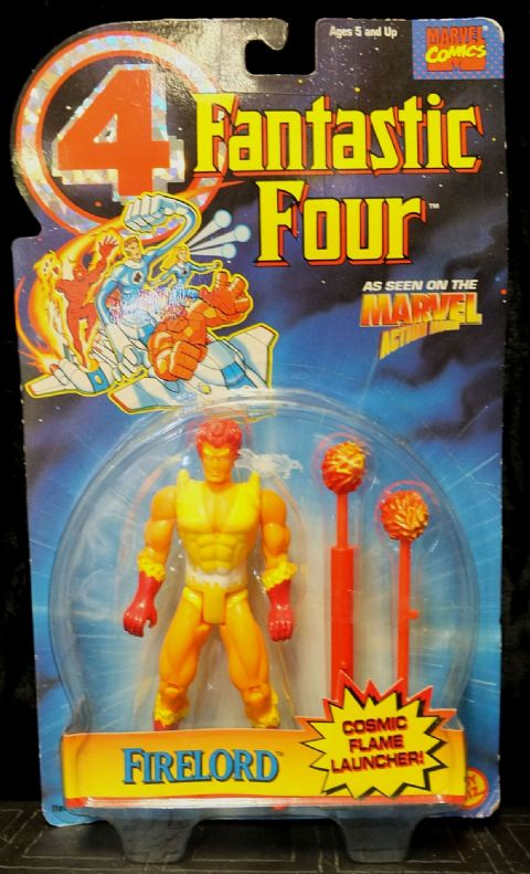 Fantastic Four: Firelord - Marvel Action Hour - Action Figure